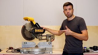 My First EVER Mitre Saw!