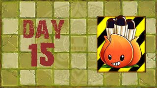 [Android] Plants vs. Zombies 2 - Lost City Day 15