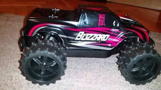 HIGH SPEED RC CAR  BLIZZARD 1/16