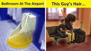 """The Most """"WTF"""" Things Seen At The Airport"""