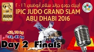 Judo Grand-Slam Abu Dhabi 2016: Day 1 - Final Block