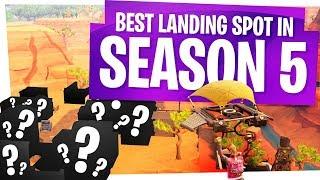 The Best Landing Spot for Loot & Wins in Fortnite Season 5 - We call it... Yemen