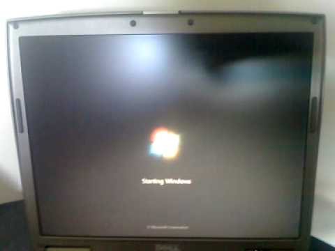 Windows 7 Ultimate and Mac OS x on Dell D610