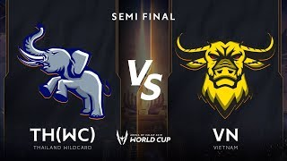 Việt Nam vs Thái Lan WildCard  - Bán Kết - AWC 2019 - Garena Liên Quân Mobile