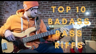 Top 10 BADASS Bass Riffs | Ready for some FUNK?