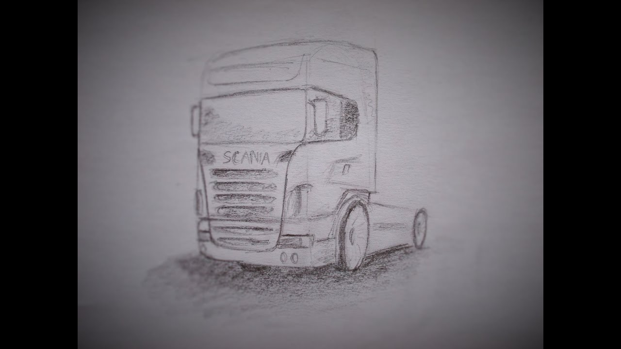 Как нарисовать карандашом сканию поэтапно