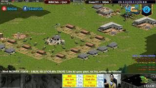 C2T3 - AoE 44 Random BiBiClub + Quýt vs GameTV + Truy Mệnh Ngày 20/06/2018