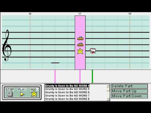 Banjo Kazooie: The Final Battle - Mario Paint Composer