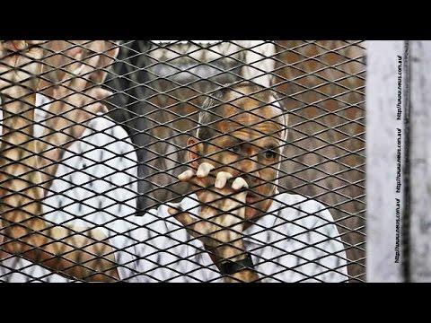 محكمة النقض تقضي باعادة محاكمة صحفيين الجزيرة