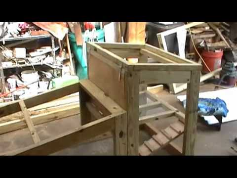 Small Chicken Tractor EASY DIY Build