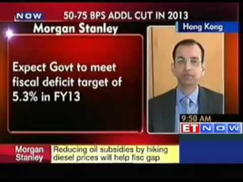 Stagflation situation will reverse in India in 2013 : Morgan Stanley