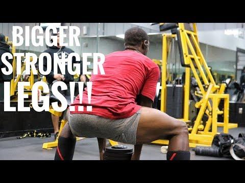 Intense Leg Workout For Building Muscle & Strength For Men & Women