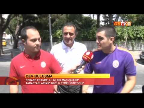 FUTBOL | Cesare Prandelli'den Diego Simeone'ye Ziyaret
