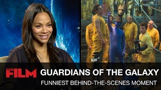 Guardians of the Galaxy's Funniest Behind-the-Scenes Moments