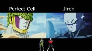 Vegeta's Final Flash: Perfect Cell vs. Jiren
