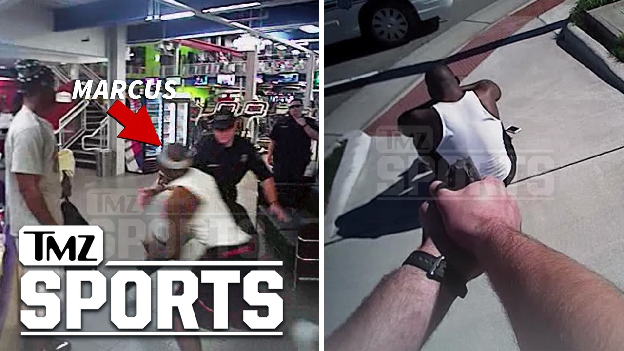 [Ex-QB Marcus Vick Runs From The Cops] Video