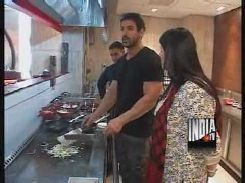 Now John Abraham Giving Tips For Cooking