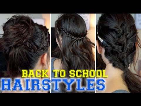 3 Back To School Hairstyles Anyone Can Do!