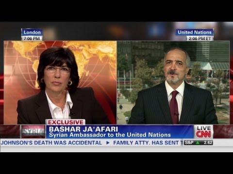 Syrian ambassador defends Assad regime