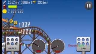 hill climb racing youtube best record dragster roller coaster