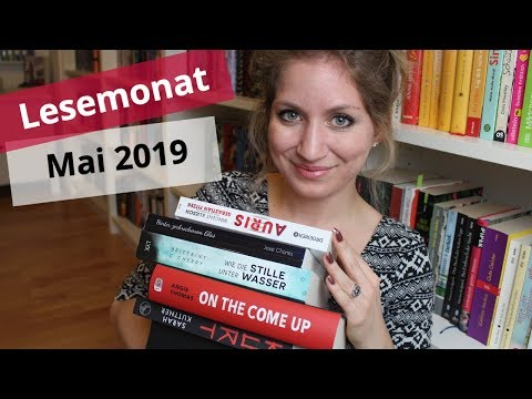 ✨Lesemonat Mai 2019: Gelesene Bücher im letzten Monat