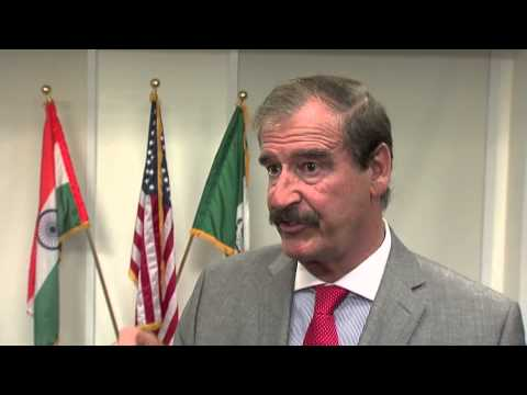 Mexico's Vicente Fox: Legalize Drugs to Weaken Cartels
