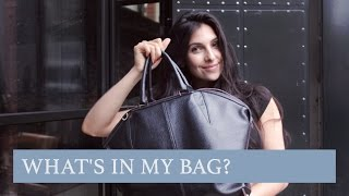 What's in my bag? Alexander Wang Emile - Anna Nooshin
