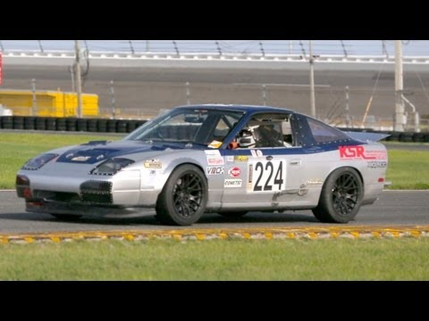 Chump Racing a Nissan 240SX at Daytona International Speedway! - The J-Turn Episode 11