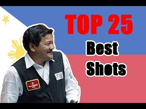 Efren Reyes 2018!!! Top 25 Amazing Shots Forever