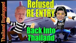 Refused RE-ENTRY into Thailand from Laos on a VISA RUN