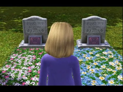 This Old Grave- Sims 3 scary movie
