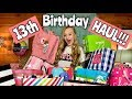 Lagu 13th Birthday party haul with Princess Ella CC Nicole and Family