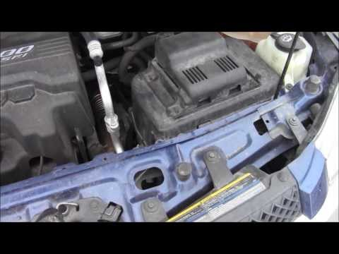 How to Access Battery on 2008 Chevy Equinox LS 3