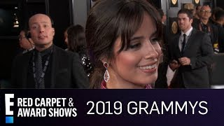 Camila Cabello Has Her 34 Whole Squad 34 At 2019 Grammys E Red Carpet Award Shows