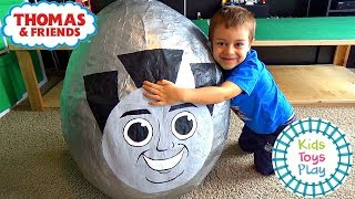 Thomas and Friends GIANT Surprise Egg | Thomas Train Biggest Merlin Surprise Egg & Playtime