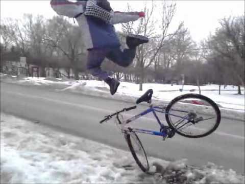 Bicicletas - La forma más barata de volar sobre nieve