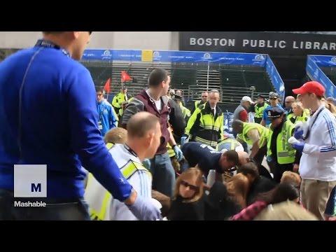 Video evidence shown during the trial of accused Boston Marathon bomber Dzhokhar Tsarnaev | Mashable