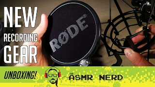 ASMR Whisper: Unboxing New Recording Gear! (Rode NT1-A microphone & Zoom H4n Pro recorder)