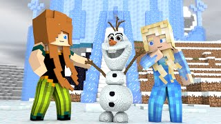 Minecraft - SEGREDOS DE FROZEN ‹ ESCOLHA A PORTA › MINI-GAME (LUCKY BLOCK)