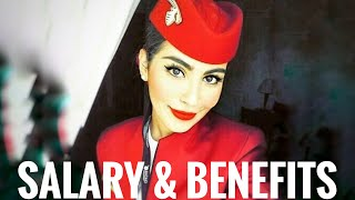 QATAR AIRWAYS CABIN CREW - SALARY and BENEFITS