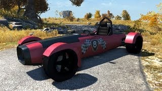 BeamNG.Drive Mod : DSC Bora 2014 (Crash test)