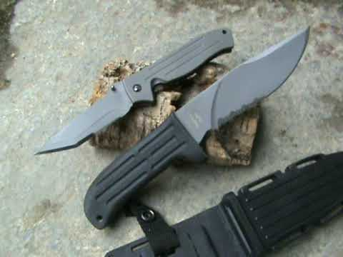 Mission knives - MPF1 and MPK10 titanium knife - Coltelleria Collini