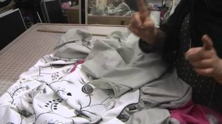 how to stitch a bed set