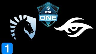 Liquid vs Secret Game 1 Semi Final ESL One Hamburg 2017 Highlights Dota 2