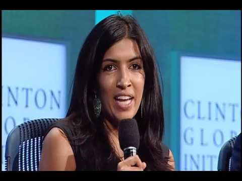 Leila Janah Speaks at Clinton Global Initiative 2010