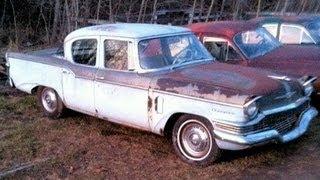 1957 Studebaker Champion Saved From the Crusher! Amazing Edsel Prototype Found!