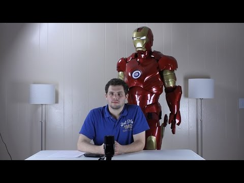 Iron Man Suit Overview - HUD. Moving Parts. Lights
