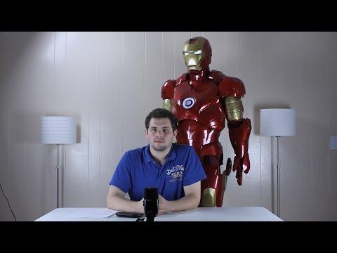 Iron Man Suit Overview Hud Moving Parts Lights Sounds Voice Commands