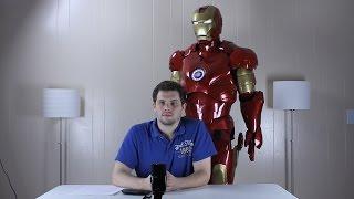 Iron Man Suit Overview - HUD, Moving Parts, Lights, Sounds, Voice Commands