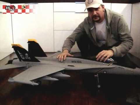 RC F-18